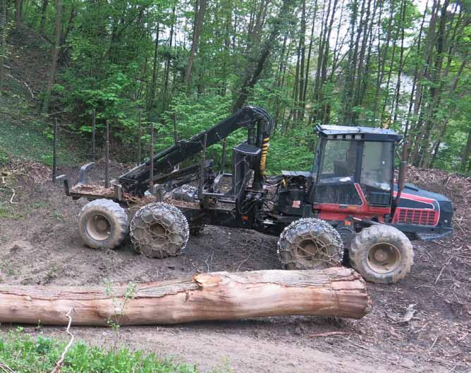Macchine forestali usate forwarder usati mulino for Rimorchi agricoli usati piemonte