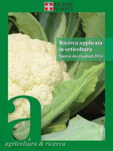 RICERCA APPLICATA IN ORTICOLTURA 2014