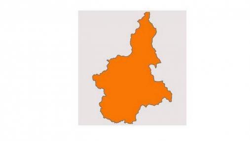 Il Piemonte zona arancione dal 29 novembre