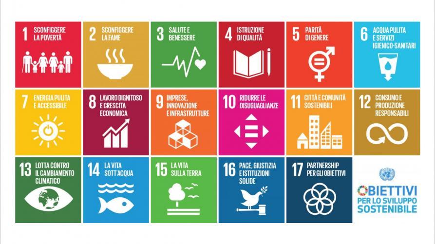 I 17 Obiettivi Di Sviluppo Sostenibile Regione Piemonte