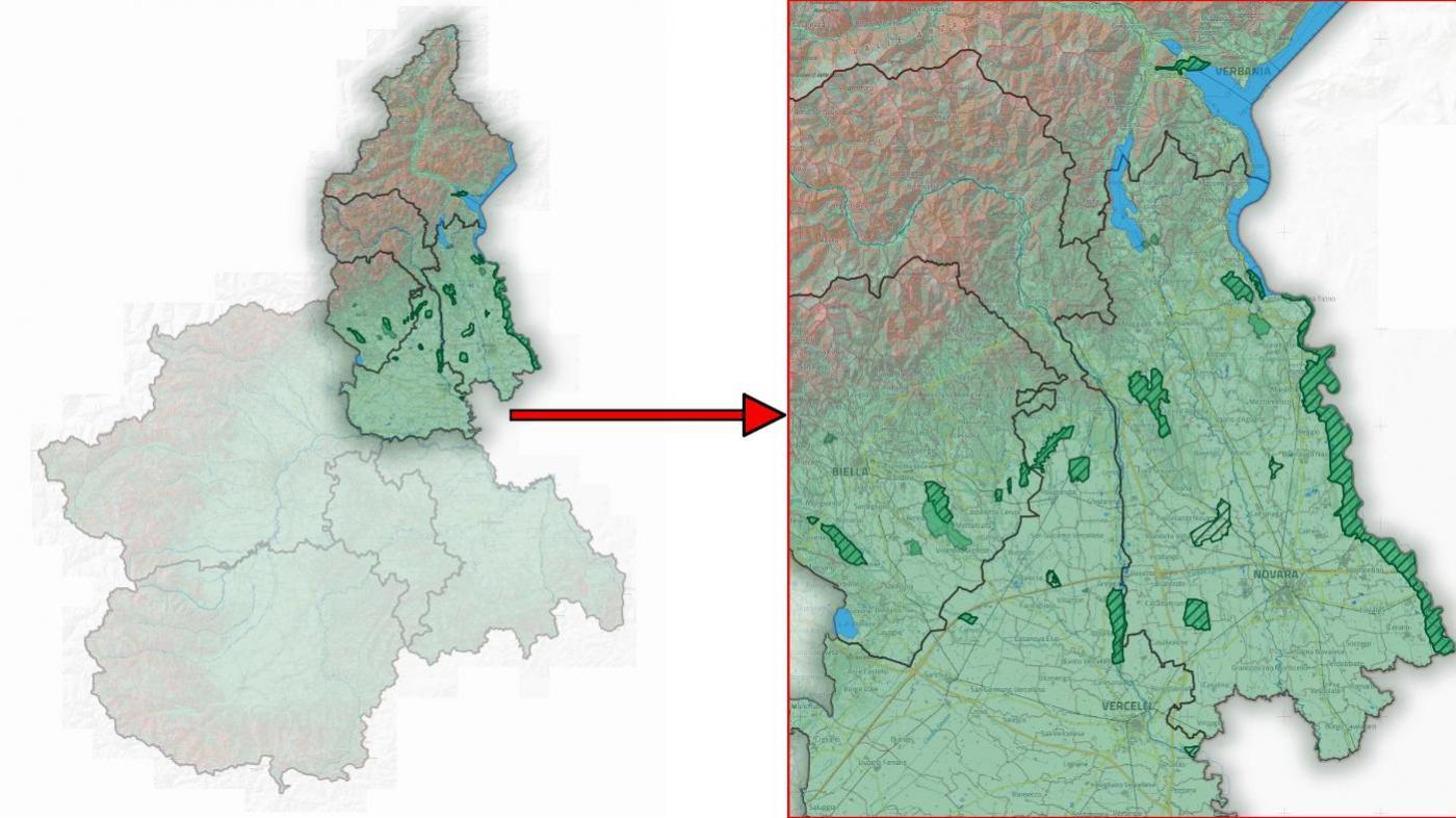 Cartina Lago Maggiore Stradale.Ente Di Gestione Delle Aree Protette Del Ticino E Del Lago Maggiore Regione Piemonte