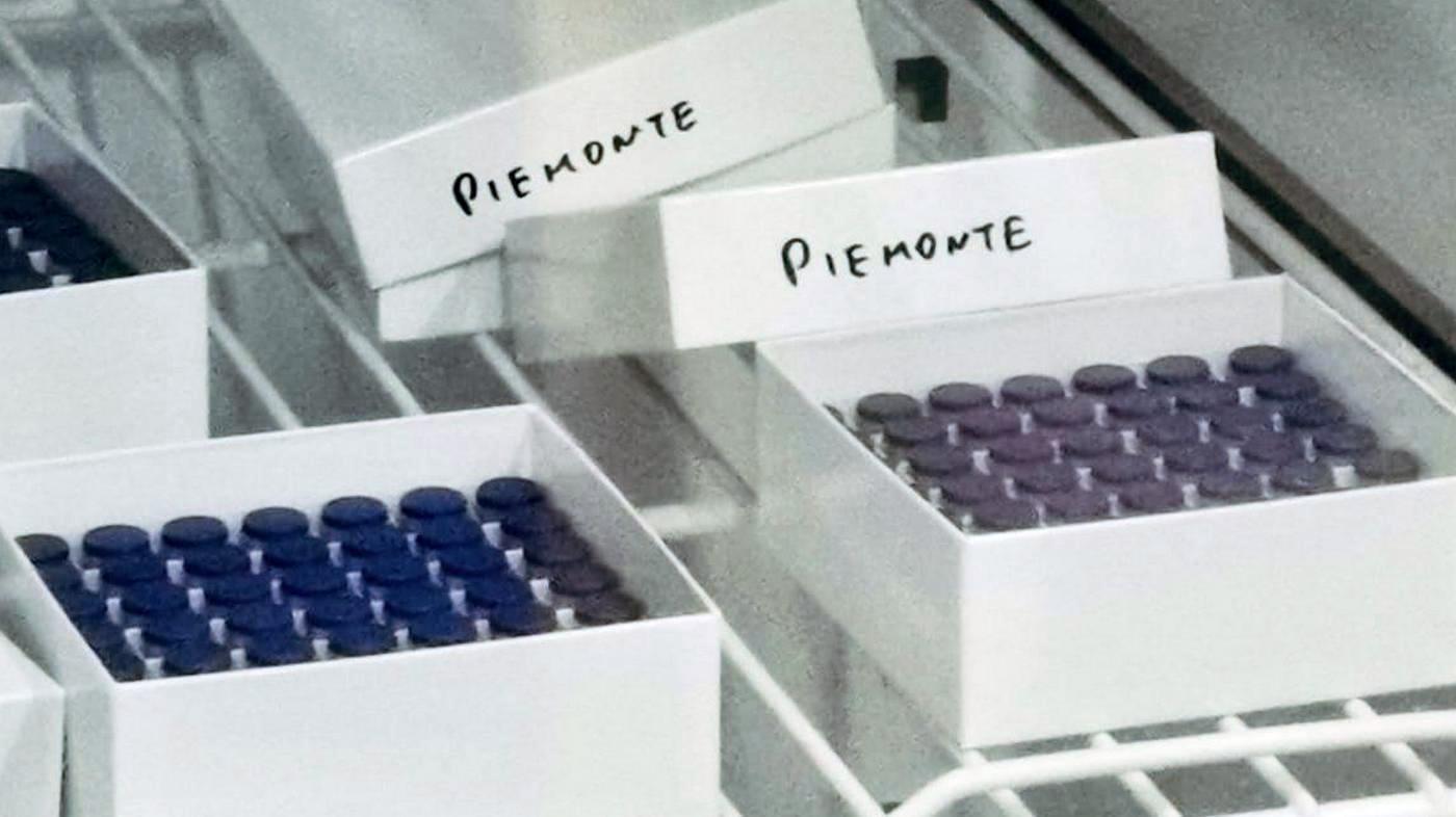 Arrivate 40.000 dosi di vaccino | Regione Piemonte | Piemonteinforma